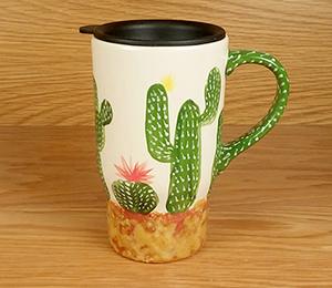 Mission Viejo Cactus Travel Mug