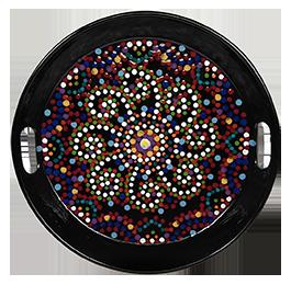 Mission Viejo Mosaic Mandala Tray