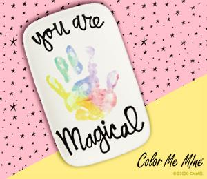 Mission Viejo Rainbow Hand-print