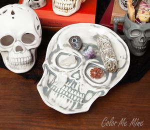 Mission Viejo Vintage Skull Plate