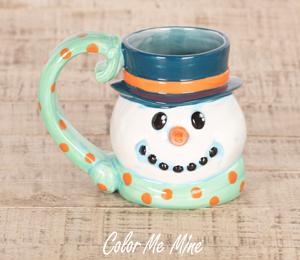 Mission Viejo Snowman Mug