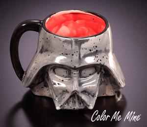 Mission Viejo Darth Vader Mug