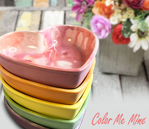 Mission Viejo Candy Heart Bowls