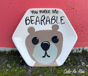 Mission Viejo Bearable Plate