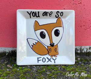 Mission Viejo Fox Plate