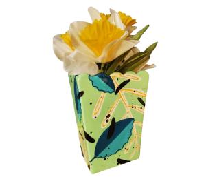 Mission Viejo Leafy Vase