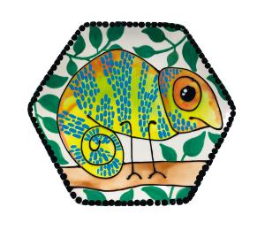 Mission Viejo Chameleon Plate