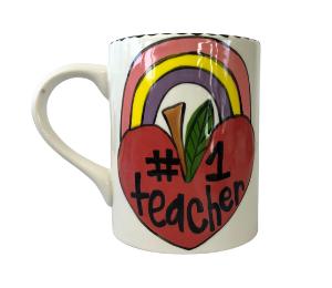 Mission Viejo Rainbow Apple Mug